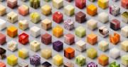 variety of unprocessed foods