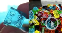 Edible and Stackable DIY LEGO Gummy Candy   Colossal