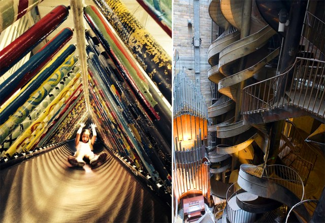 This 10-Story Factory Used To Manufacture Shoes. Now It May Just Be The World's Coolest Urban Playground.
