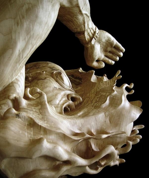 Wood Figurative Sculpture