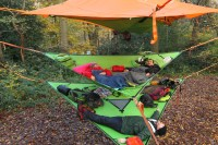 Camp in the Air: New Suspended Treehouse Tents and ...