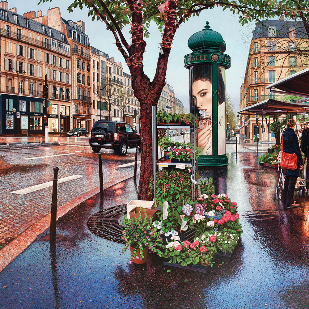 Nathan Walshs Unusual Urban Landscapes Painted Atop