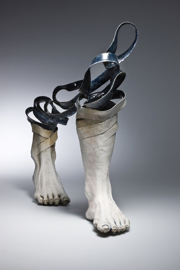 Ceramic Sculptures Unravel Eyes Colossal