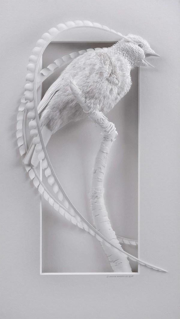 Layered Paper Sculpture Animals