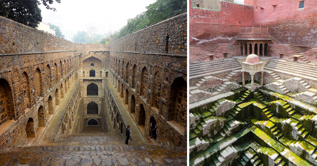 Journalist Spends Four Years Traversing India To Document Crumbling Subterranean Stepwells