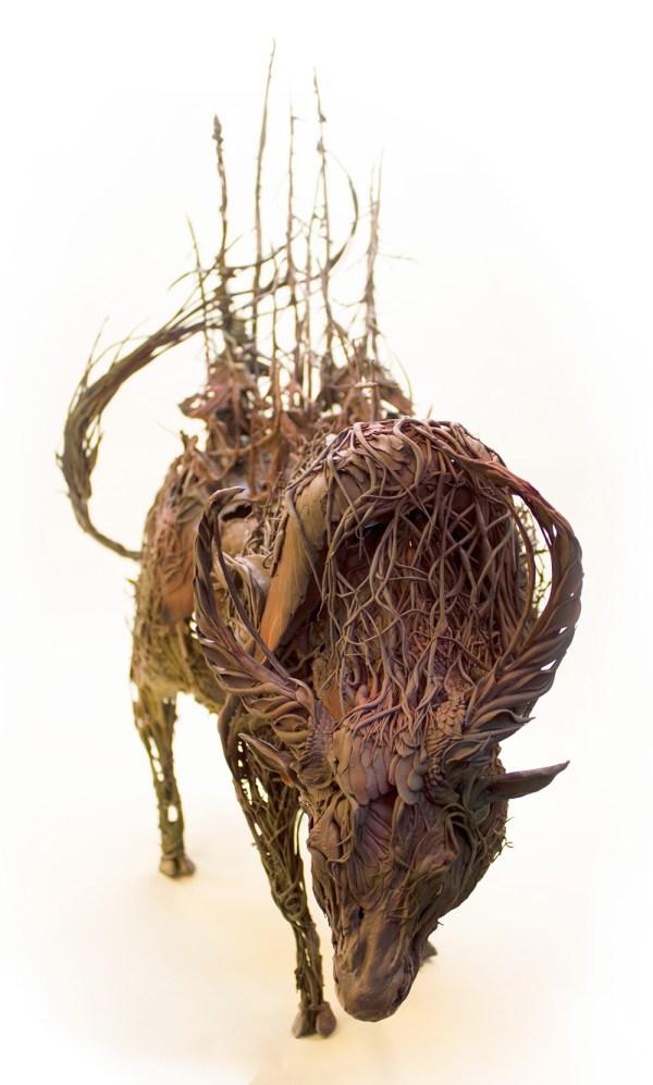Surrealist Sculptures Ellen Jewett Effortlessly Combine