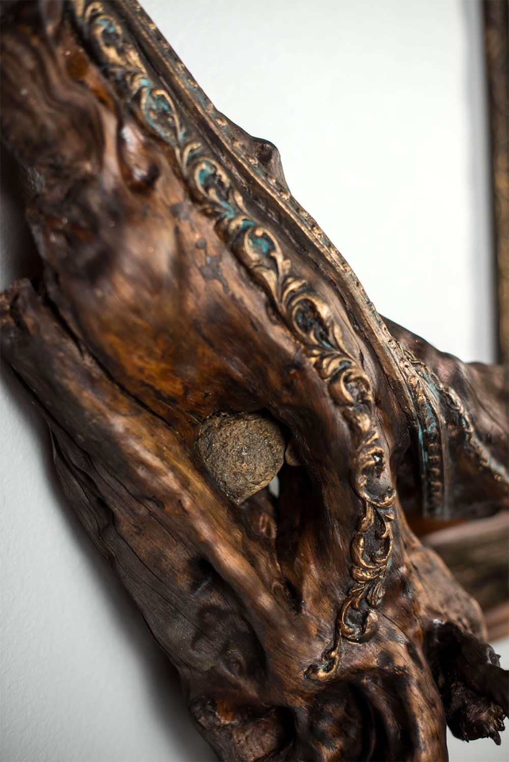 Twisted Tree Branches Fused with Ornate Picture Frames by Darryl Cox  Colossal