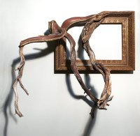 Twisted Tree Branches Fused with Ornate Picture Frames by ...