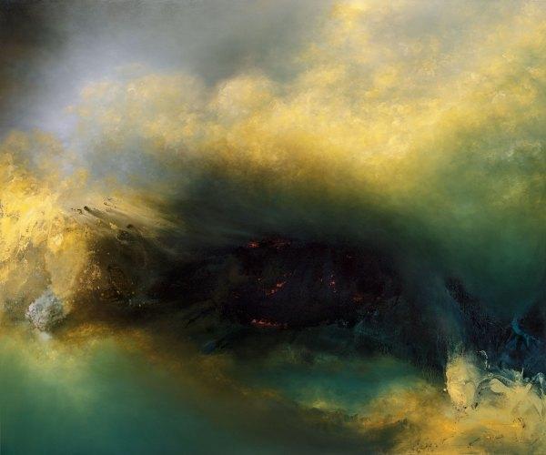 Dark Abstract Art Paintings