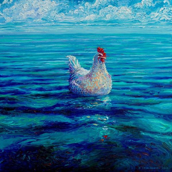 Iris Scott Finger-Painting