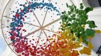New Rainbow-Hued Origami Street Art by Mademoiselle ...