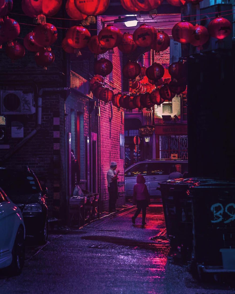The Neon Glow of Tokyo and Londons Nightlife Captured by Liam Wong  Colossal