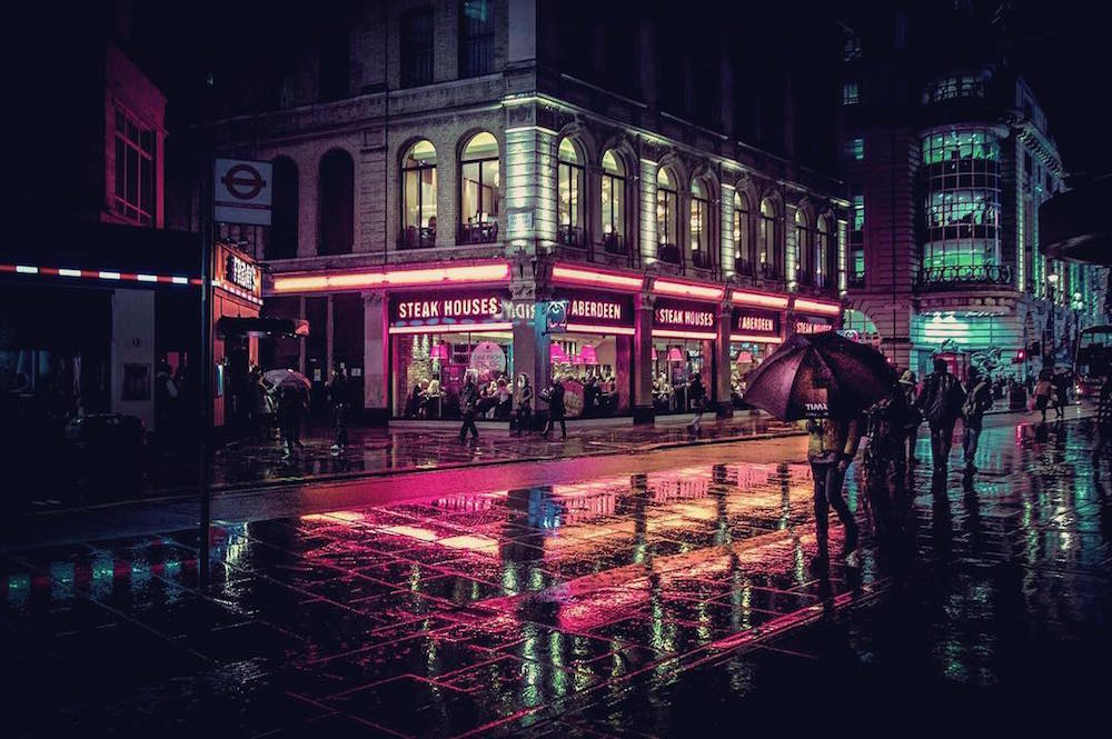 Trippy Wallpaper Hd The Neon Glow Of Tokyo And London S Nightlife Captured By
