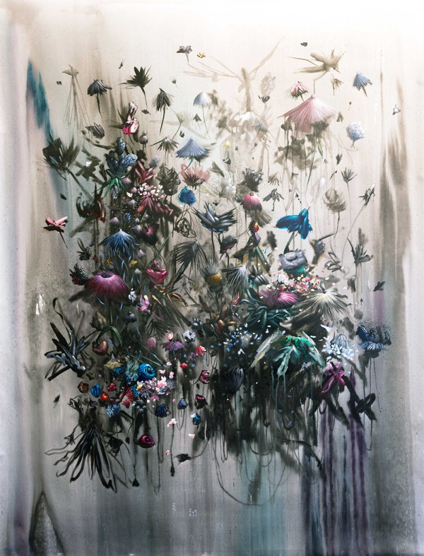Explosive Mural And Paintings Collin Van Der