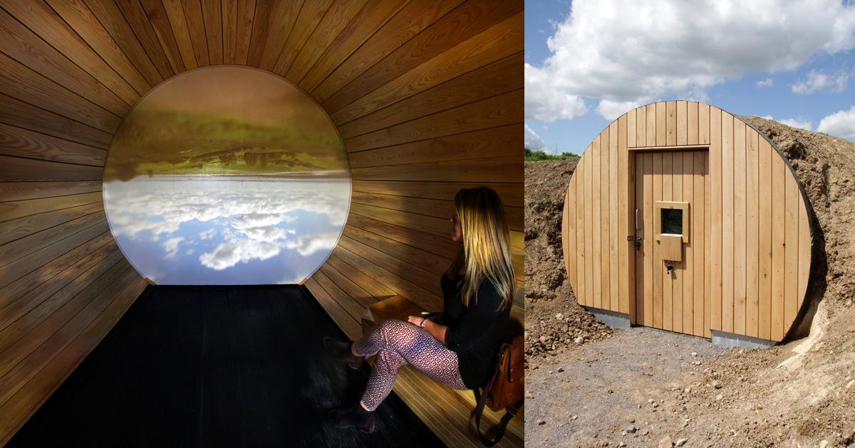 A Subterranean Camera Obscura Captures the English Countryside  Colossal
