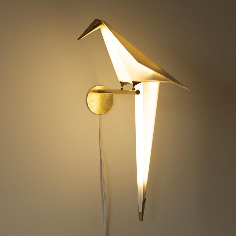 Origami Bird Lights by Umut Yamac