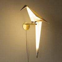Origami Bird Lights by Umut Yamac | Colossal