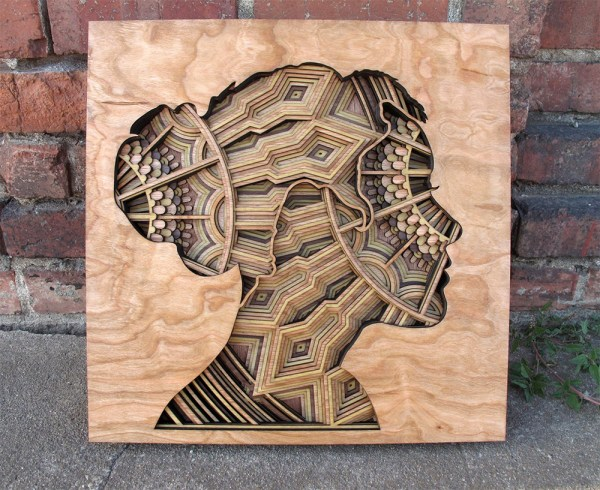 Laser-cut Wood Relief Sculptures Gabriel Schama Colossal