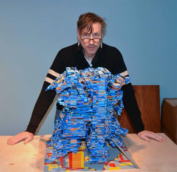 Unwieldy Lego Sculptures Reveal Multitude Of Hidden