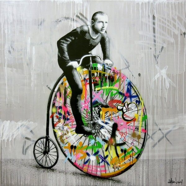Stencil Art Blends Graffiti And Decay Martin Whatson Colossal