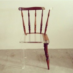 Fixing Wooden Chairs Small Leather Club My New Old Chair Artist Fixes Broken Wood Furniture With Opposing 7