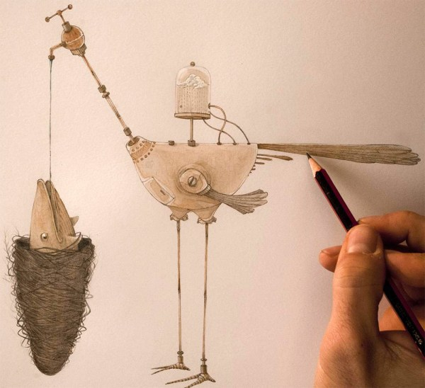 Whimsical Storybook Beasts And Birds Illustrated Vorja