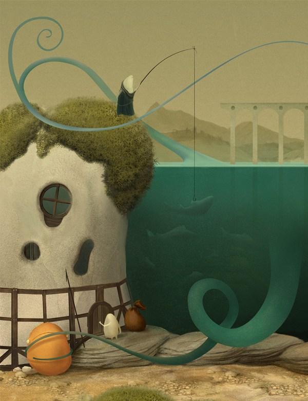 Whimsical Storybook Illustrations Antanas Gudonis