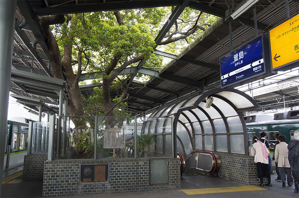 Kayashima The Japanese Train Station Built Around A 700