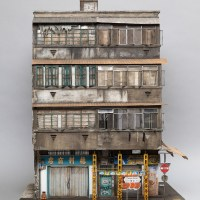 Miniature Displays of Contemporary Urban Buildings