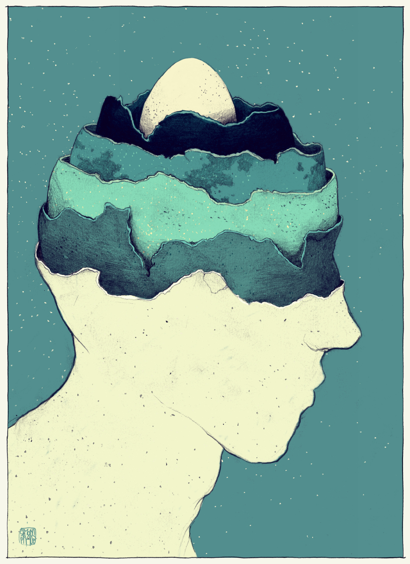 New Surreal Illustrations From the Mind of Simon Prades  Colossal