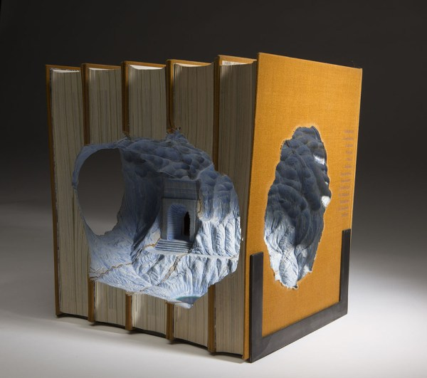 Magnificent Carved Book Landscapes And Architecture