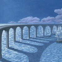 Painted Narrative Optical Illusions