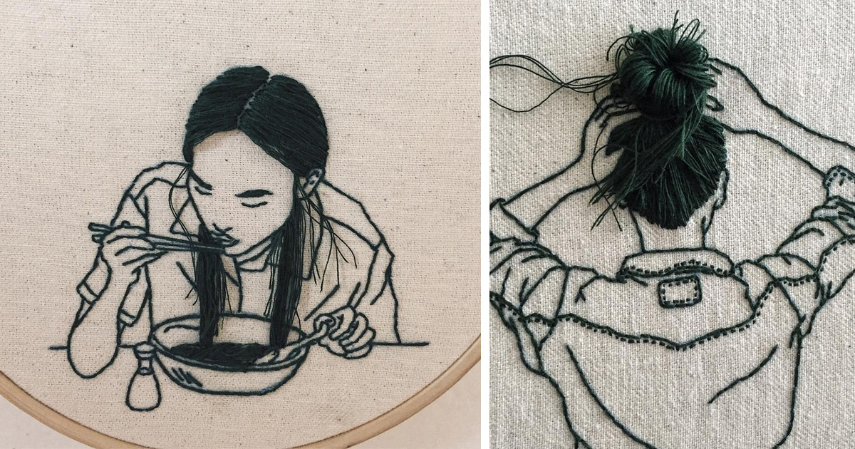 Sewn In Hairstyles