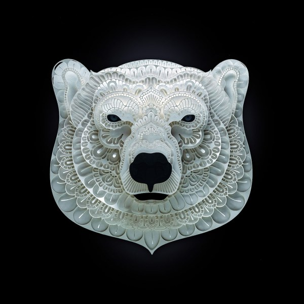 Endangered Species Cut Paper Patrick Cabral Colossal