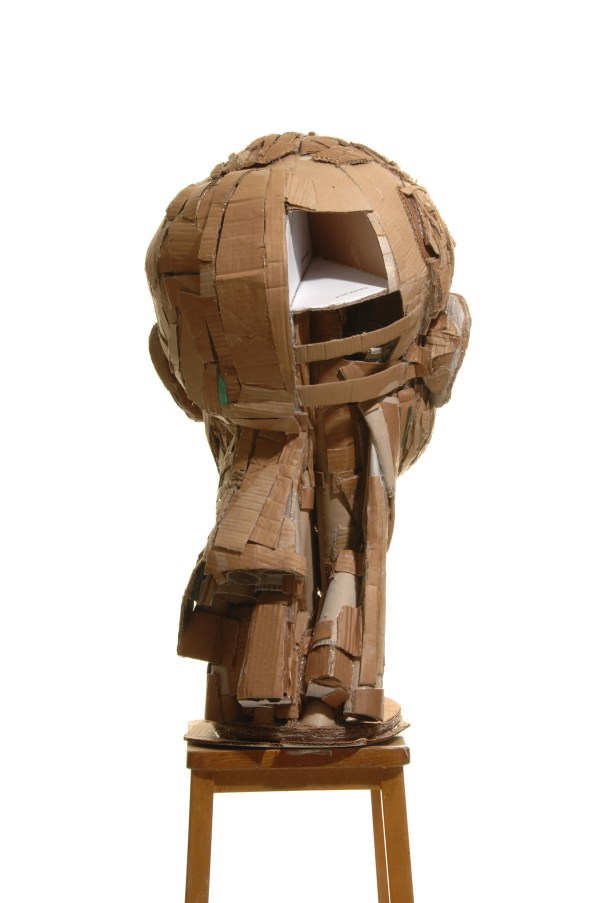 Recycled Cardboard Sculpture