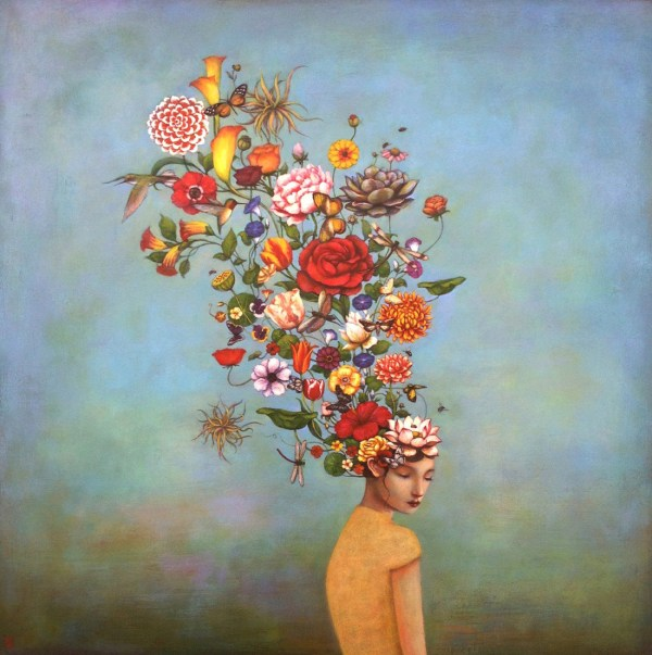 Ethereal Acrylic Paintings Duy Huynh Explore Cultural