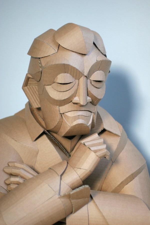 Cardboard Sculpture Art