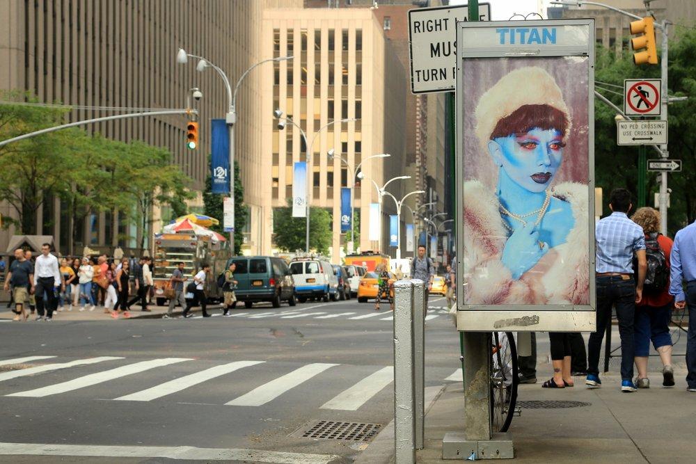 Blue Lady by Parker Day