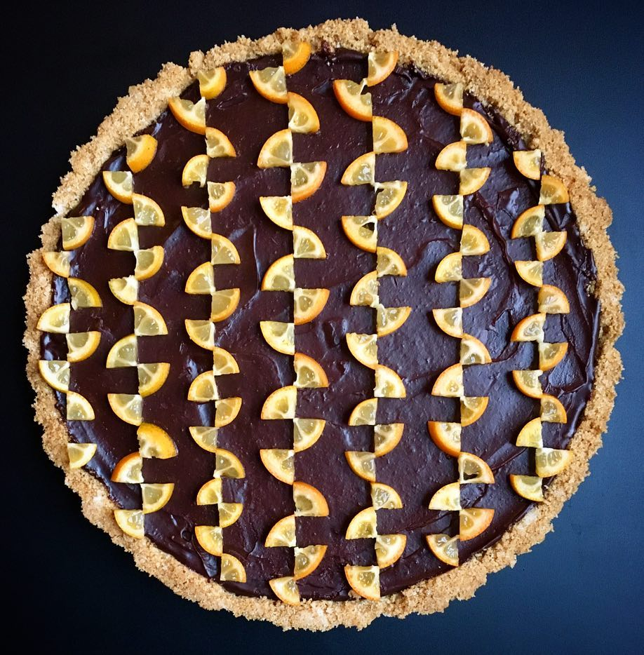 Dizzying Geometric Pies and Tarts by Lauren Ko  Colossal