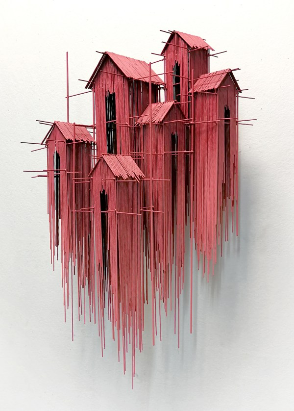 Architectural Sculptures David Moreno Three Dimensional Drawings Colossal