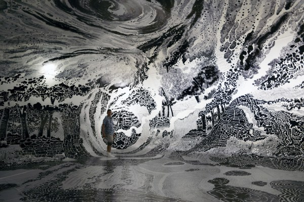 360-degree Immersive Drawing Created With 120 Marker