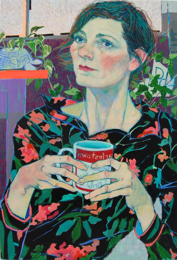 Expressive Color-filled Portraits Of Friends And Family Hope Gangloff Colossal