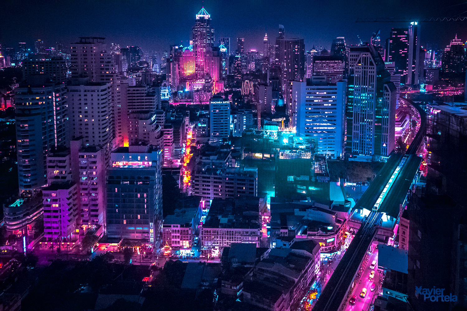 1920x1080 Wallpaper Tron Girl Aerial Explorations Of International Cityscapes Washed In
