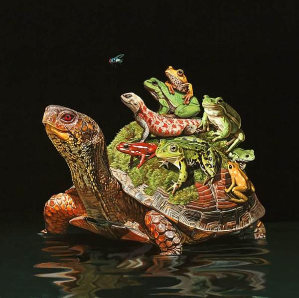Unusual Animals Brought In Hyperrealistic