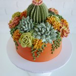 Buttercream Succulents Decorate Edible Planters By Leslie Vigil Colossal