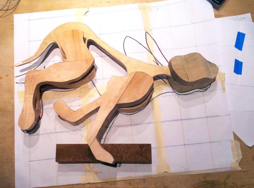 "Creation of ""Jack Rabbit (Lepus Californicus)"""