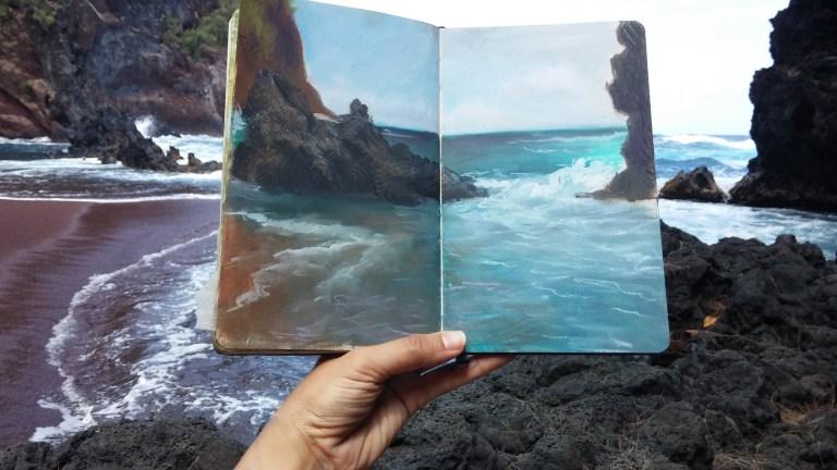 Sketchbook by Diana Corvelle