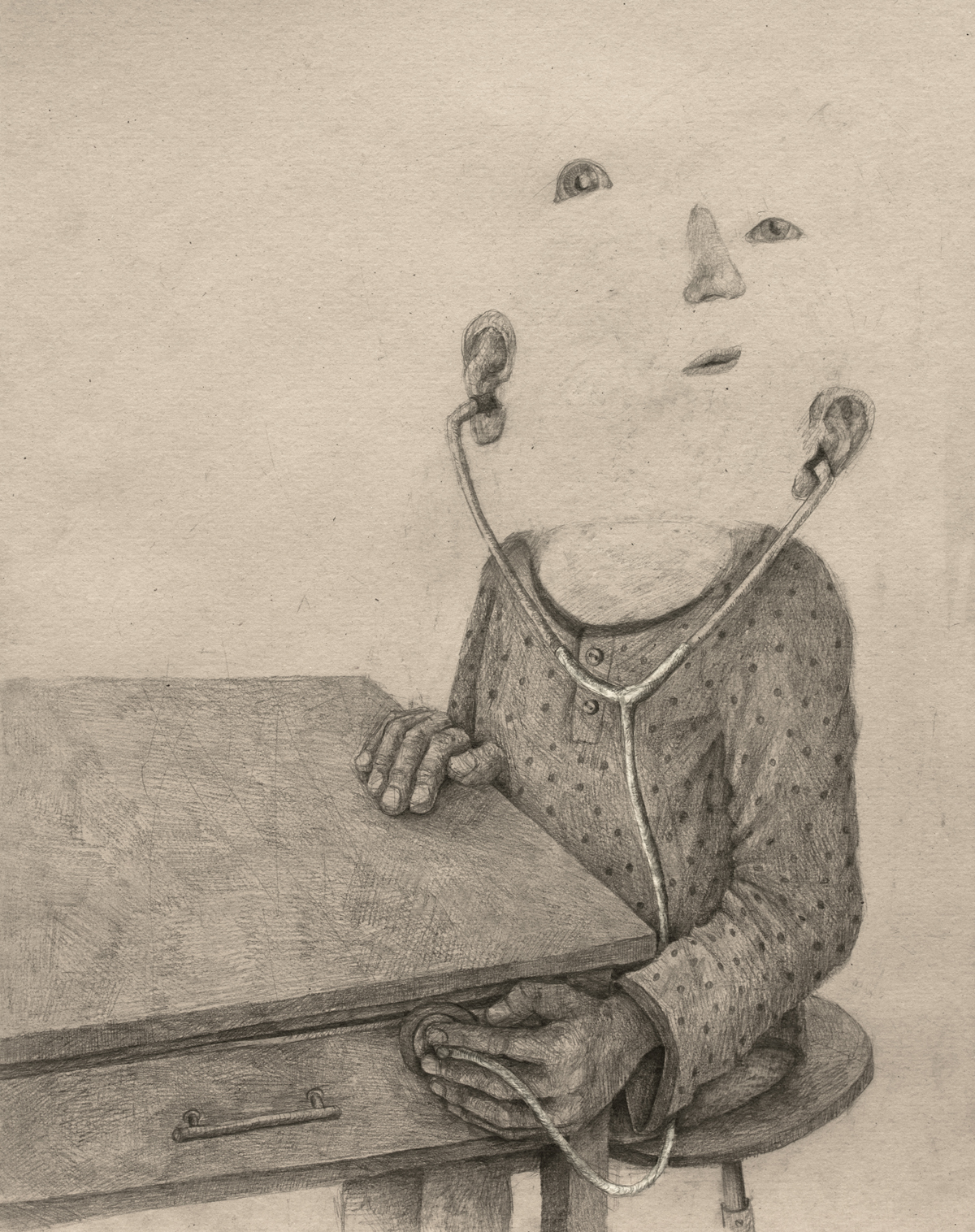 Solitary Worlds Explored in New Psychological Drawings by