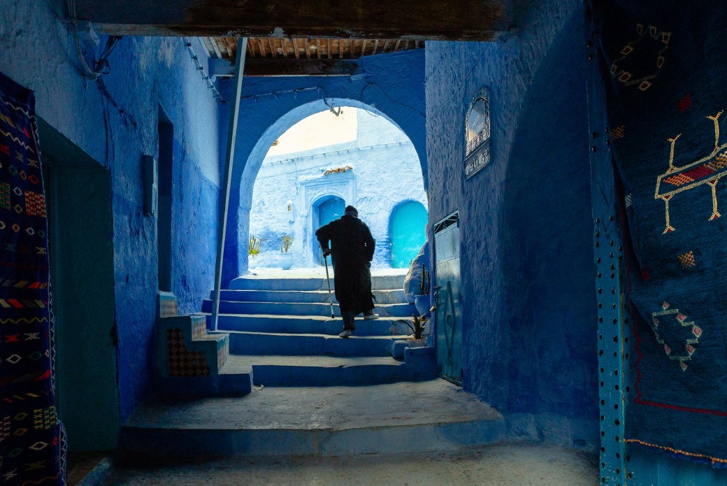 The Vibrant Blue Hues of Morocco's Chefchaouen Village Captured in Photographs by Tiago & Tania 3