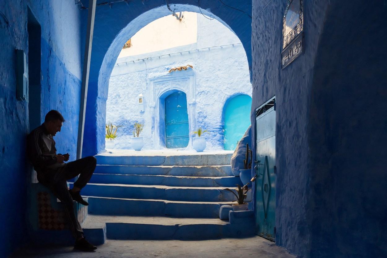 Blue Hues of Morocco